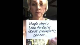 Metastatic Cancer..... The REAL deal....(Metastatic Breast cancer is not talked about enough... not enough research... but yet it's the cancer that kills.... please share to educate? thank you! #lifer For ..., 2015-06-05T03:16:19.000Z)