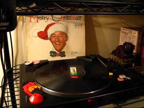 (((FAKE STEREO))) Bing Crosby - Jingle Bells w/ The Andrews Sisters - LP 1960