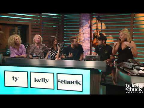 Little Big Town Talks Touring with Miranda Lambert & On-Stage Fails - Ty, Kelly & Chuck