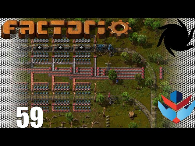 Factorio 1.0 Multiplayer 1K SPM Challenge - 59 - Battery Outpost Progress