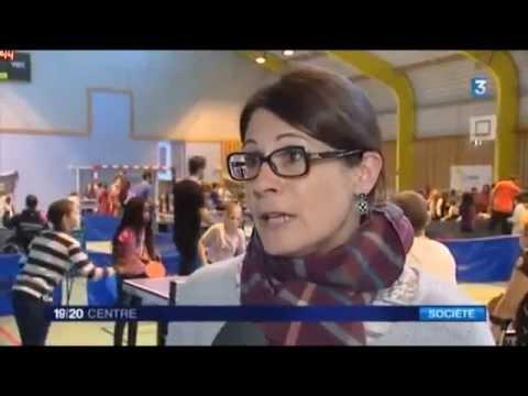 Saint Marceau Orleans Tennis De Table Changeons De Regard Youtube