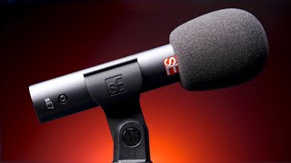 sE Electronics sE7 Small Diaphragm Condenser Microphone Review / Test (Good for Podcasting??)