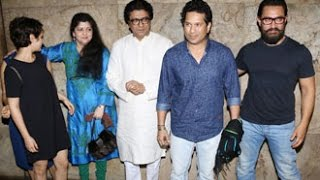 Dangal Movie 2016 Screening | Aamir Khan, Raj Thackeray, Sachin Tendulkar | Light Box