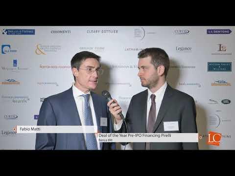 Fabio Matti - Financecommunity Awards 2017 by financecommunity.it