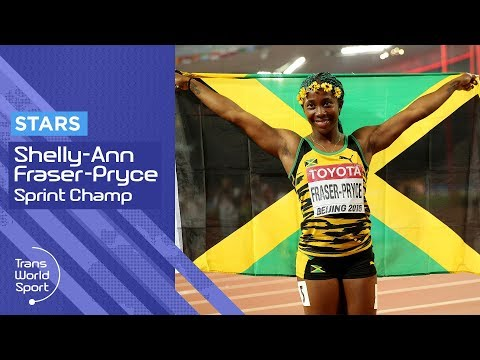 Shelly-Ann Fraser-Pryce on Trans World Sport