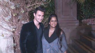 Salman Khan's Sister Arpita & Aayush Sharma At Manish Malhotra's 50th Birthday Bash