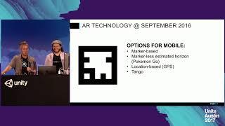 توحيد أوستن 2017 - خلق فريدة من نوعها تجربة AR: الوحدة تانجو/ARKit