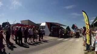 DEFILE DE BATEAUX FLEURIS A RAVENOVILLE 2015 MANCHE 50