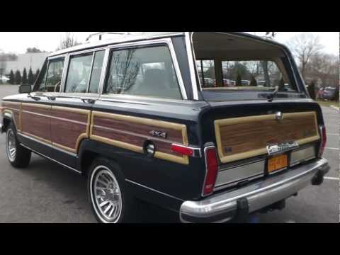 Review of 1990 Jeep Wagoneer For Sale