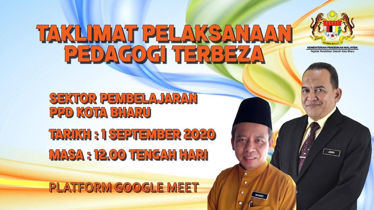 Taklimat Pelaksanaan Pedagogi Terbeza Ppd Kota Bharu 2020 Siri 3 Youtube