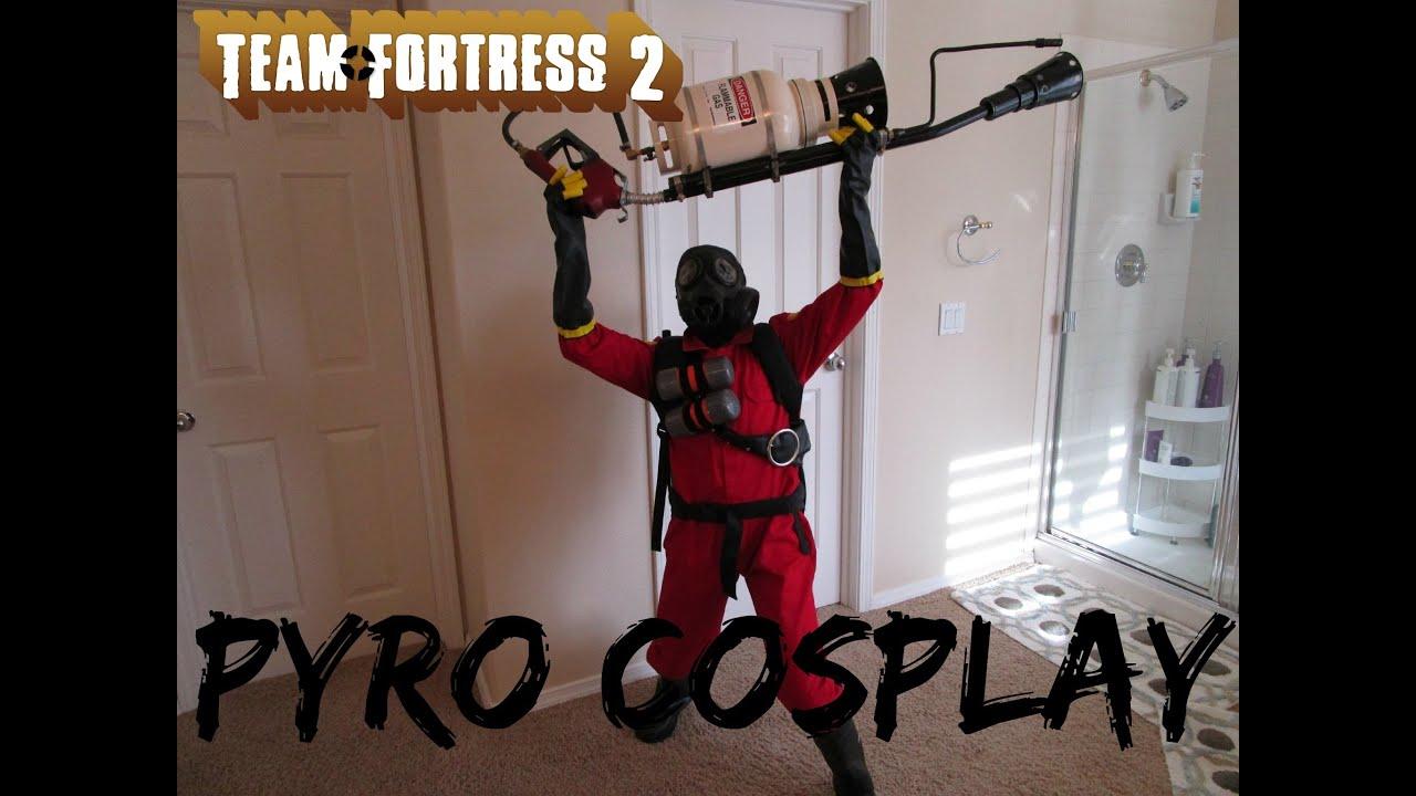 TF2 Pyro Homemade Cosplay - YouTube