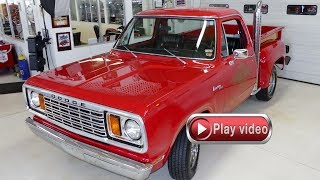 1978 Dodge Lil'Red Express Truck at Cruisin Classics