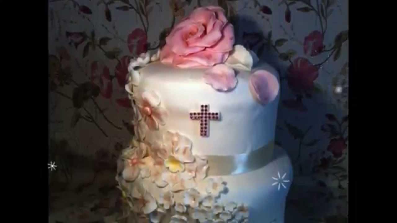 Preferenza Torta per Cresima (le torte di Olga) - YouTube FN96