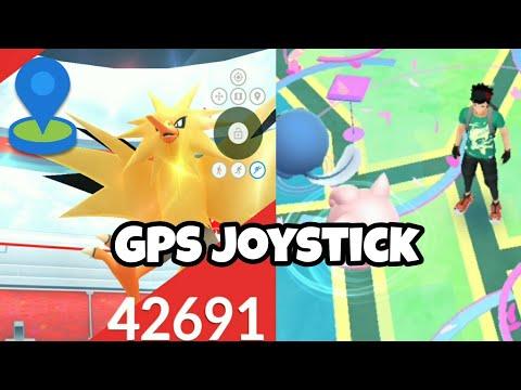 GPS Joystíck Hack For Pokemon Go ( No Root )