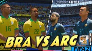 FIFA 21 | Argentina vs Brazil | Wembley Stadium (Full Gameplay)