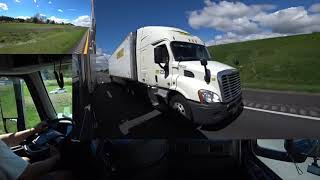 April 21, 2019/344 Trucking Loaded For Madison Wisconsin. Mt. Crawford Virginia