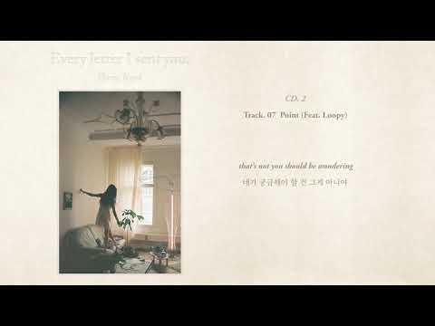 백예린 (Yerin Baek) - 'Point (Feat. Loopy)' (Official Lyric Video)