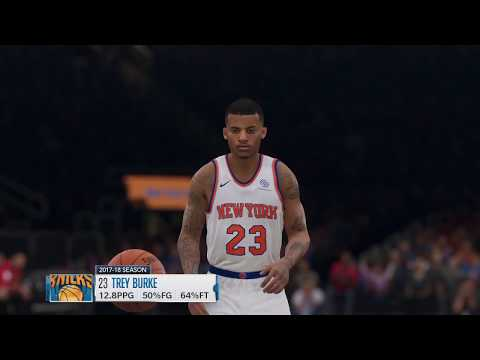 NBA Live 19 New York Knicks Vs  Atlanta Hawks PS4 Pro Gameplay KP FULL COURT SHOT!!!