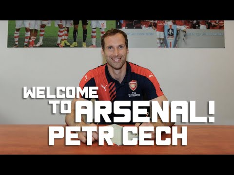 Welcome To Arsenal Petr Cech!!!