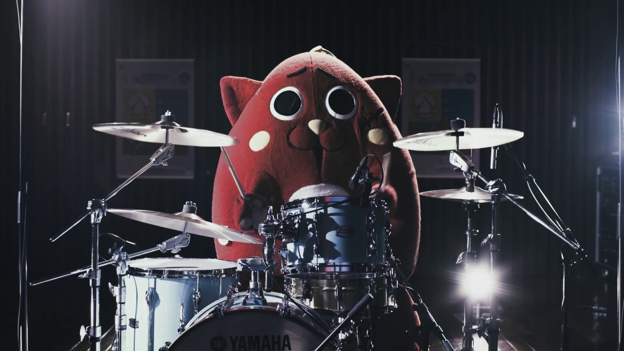 Nyango Star, Japan's cat-apple mascot drummer | The Kid Should See This