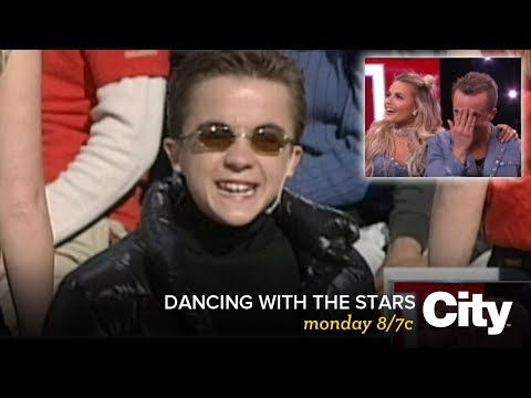 Frankie Muniz performed this song as a child actor! |  DWTS Monday 8/7c