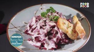 Mummy Ka Magic | HomeMade Beetroot Pasta With Cheese Sauce Recipe | Amrita Raichand