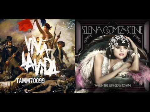 Selena Gomez vs. Coldplay - My Dilemma vs. Viva La Vida (Mashup)