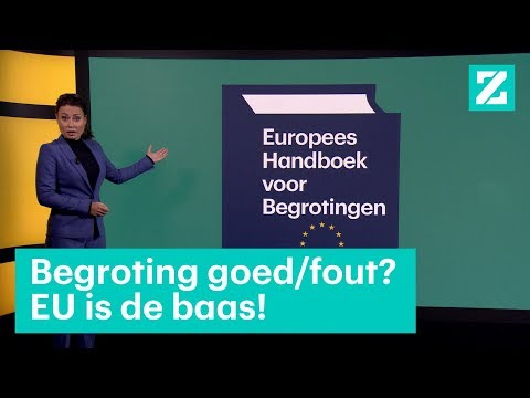 Dit is het Europese Begrotingshandboek • Z zoekt uit