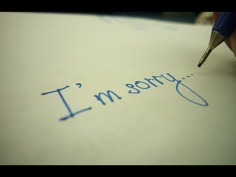 I`m sorry. Sorry for every single mistake.