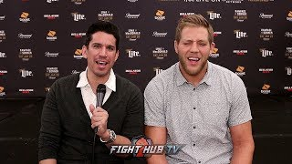 JACK SWAGGER TALKS MMA DEBUT
