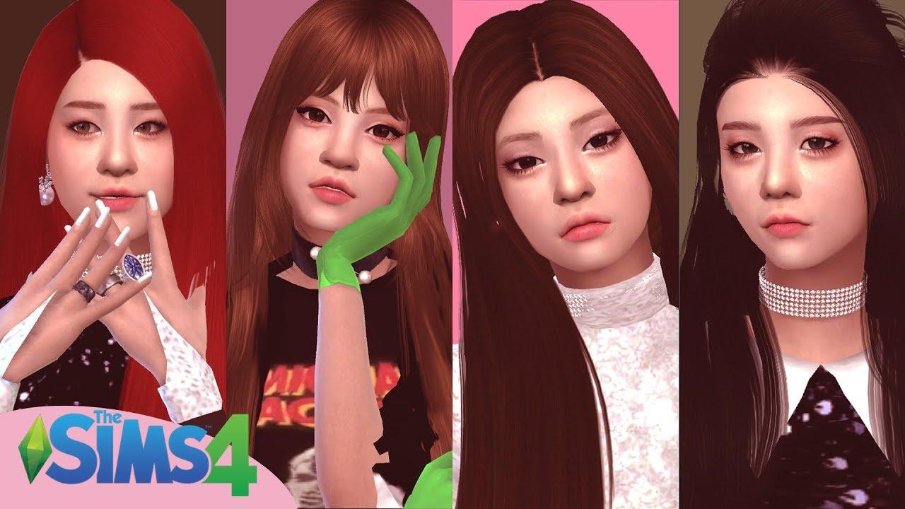 [VIDEO] - The Sims 4 : BLACKPINK - '뚜두뚜두 (DDU-DU DDU-DU)' Outfits CC + DL 4