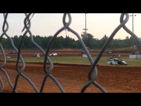 JC Howell Limited hot laps Ark La Tex Speedway