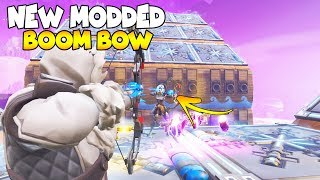 NEW Modded BOOM BOW is AMAZING! 😱 (Scammer Gets Scammed) Fortnite Save The World