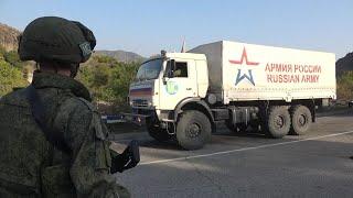 Ռուս խաղաղապահները 10 տոննա հումանիտար օգնություն են հասցրել արցախցիներին