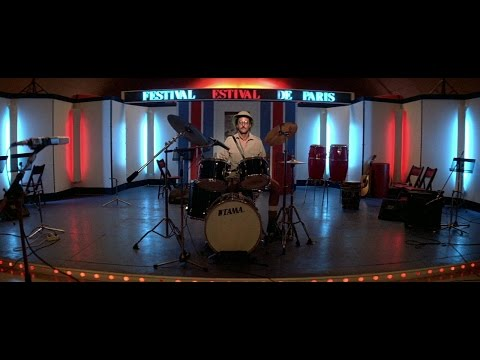 Subway (1985) Jean Reno Drums Solo Scene HD