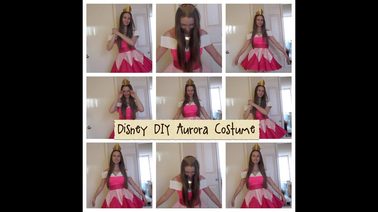 Disney diy aurora costume youtube disney diy aurora costume solutioingenieria Images