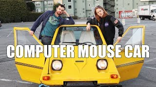 TURNING A CAR INTO A COMPUTER MOUSE