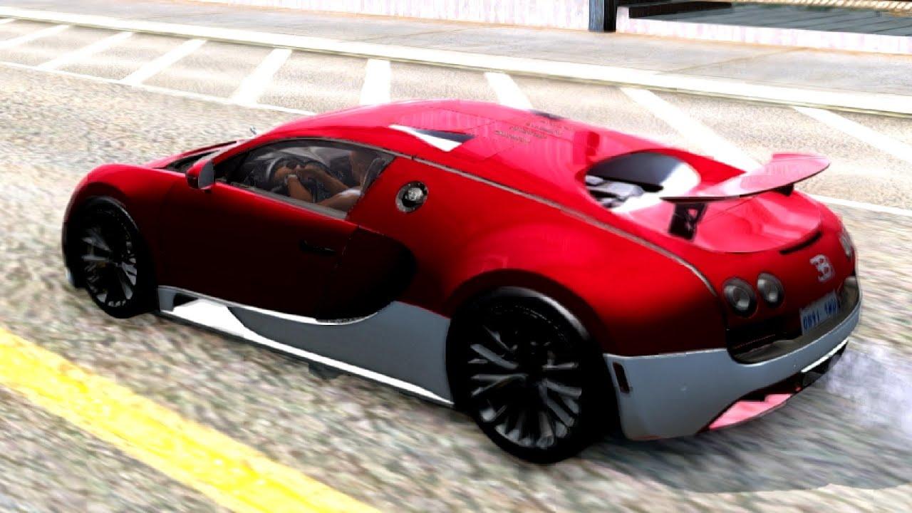 GTA San Andreas   Bugatti Veyron Extreme Sport