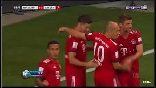 ملخص ּ مباراة بايرن ميونخ واينتراخت فرانكفورت 0 5....YOYO