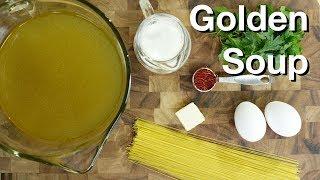 Zuppa Dorata (golden Soup) - Le Gourmet Tv