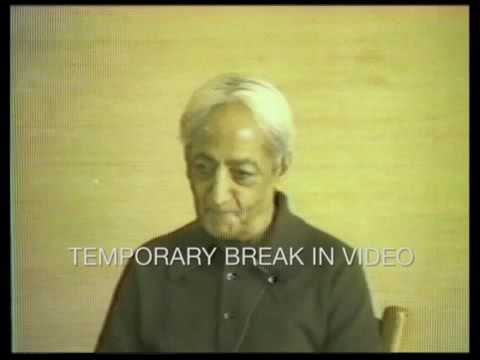function of education on krishnamurti Krishnamurti: seeing both the causes and the results of war, of the present moral  and social crisis, naturally one begins to perceive that the function of education.