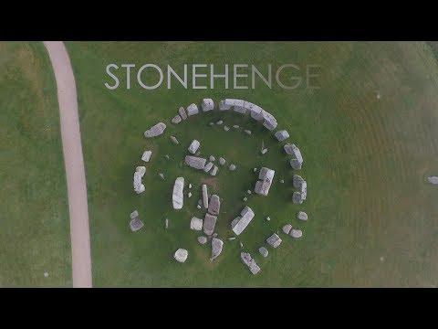 Stonehenge Sunrise - Drone
