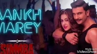 Simmba: AANKH MAREY full Audio song | NehaKakkar | Mika singh | Kumar Sanu