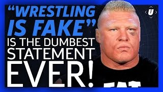 """Here's Why You Can Stop Saying """"Wrestling Is Fake"""""""