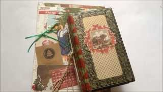 Christmas junk journal and altered book