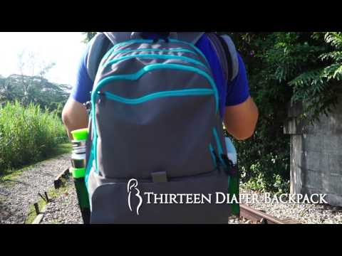 Diaper Backpack Feature Highlights