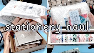 HUGE? STATIONERY HAUL indonesia