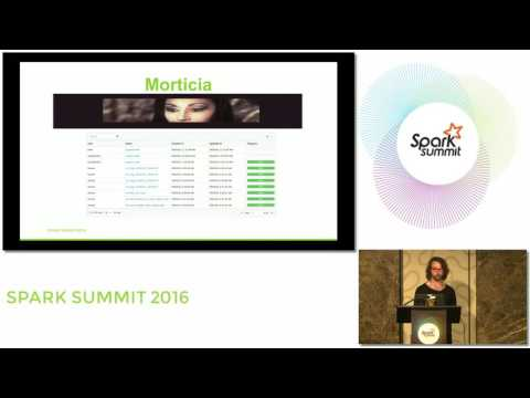 Morticia: Visualizing And Debugging Complex Spark Workflows
