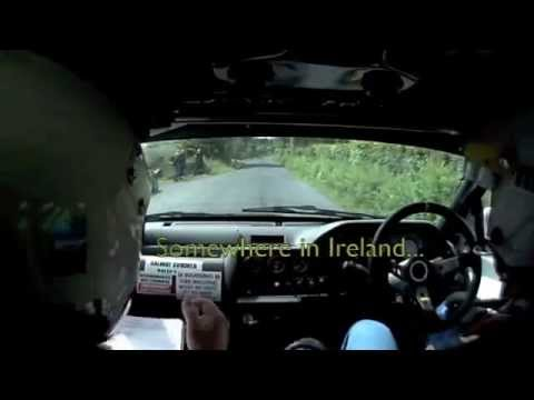 When rally goes wrong: InCar Bust up and crash (Hilarious)