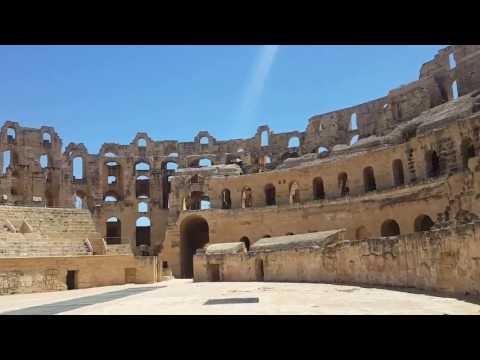 Anfiteatro El Jem, Tunísia